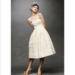 Anthropologie BHLDN Hitherto Fondant Tea Dress